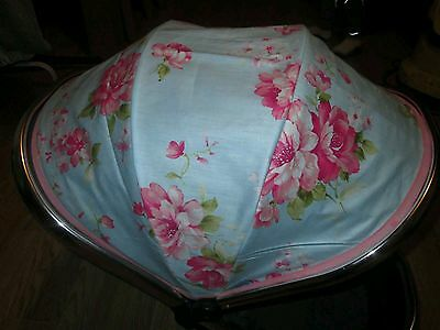 iCandy Peach 1 2 or Jogger main seat hood cover rose pink blue