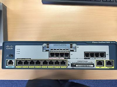 Cisco Unified 500 Series - UC520-16 Full Working Order