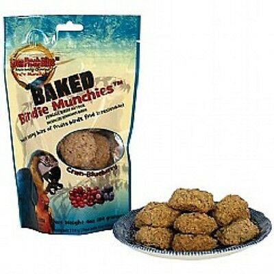 New:  Oven Fresh Birdie Munchies Parrot Treat - Cranberry & Blueberry 114G