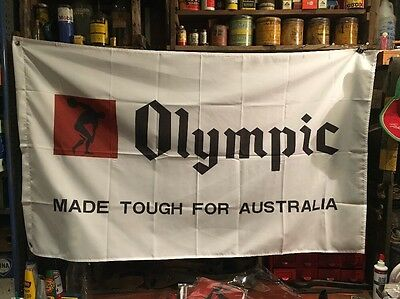 Olympic Tyre Flag