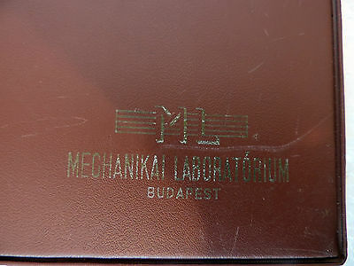 Mechlabor STM200b studio recorder service manual and eighteen attached plans