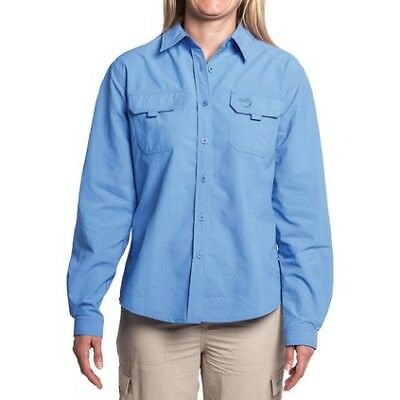 Explore 360 Vented Long Sleeve Fishing Shirt - Womens, Marina, 18