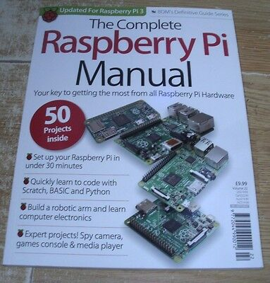 Definitive Guide Series The Complete Raspberry Pi Manual Volume 22 Bookazine