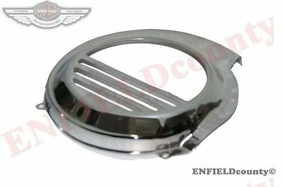 NEW CHROME PLATED FLYWHEEL COWL COVER UNIT VESPA PX LML SCOOTER @AEs