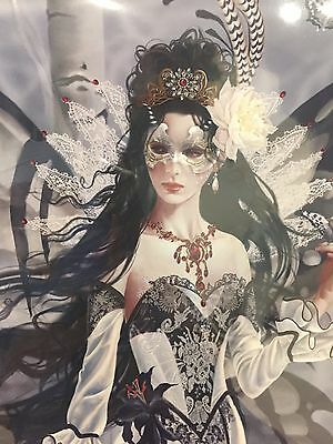 Set of 2 Nene Thomas Large Limited Ed Signed Fairy Prints Aveilad Queen of Silk