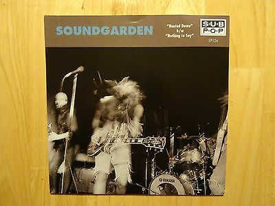 "Soundgarden ‎– Hunted Down b/w Nothing To Say 7"" Limited Edition Orange"