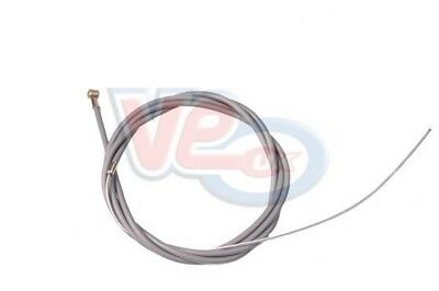 Vespa Clutch Cable Complete w/ Teflon Lined Outer and Barrel Nipple