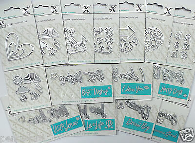 Xcut Mini Die Birthday Zodiac Relations Sentiments Thank You Love Tags Alphabet