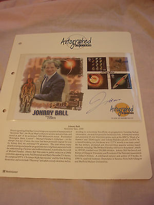 Scientists Tale 1999 First Day Cover Stamps Signed By Johnny Ball