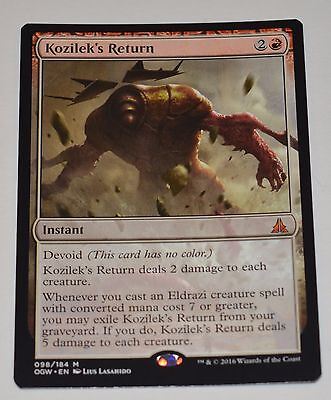 MTG, Kozilek's Return, Oath of the Gatewatch, NM, x1