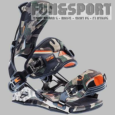 SP sLab One 2016 camo L Softbindung Fastec Step In System