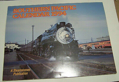 1994 Southern Pacific Trains Calendar