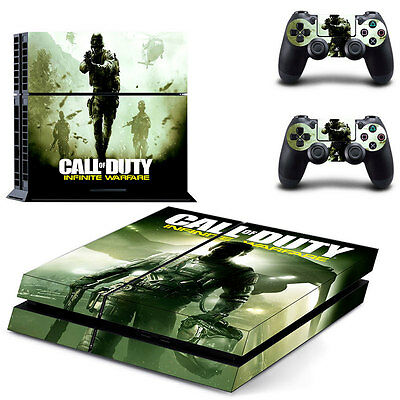 New COD Skin Sticker For PS4 Playstation 4 Console + Controllers