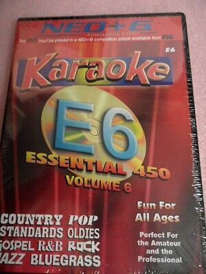 Chartbuster Karaoke - RSQ NEO+G Player ONLY Vol 6 450 Songs - NEO+G DVD