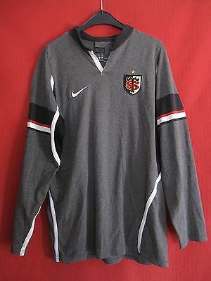 Maillot Rugby NIKE Stade Toulousain Manche Longue Toulouse ST Vintage - L