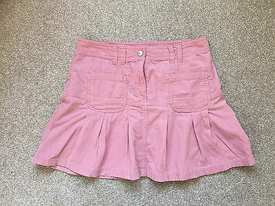 Next Girls Pink Cord Skirt Age 12 Years