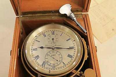 Antique Marine Chronometer!!!! - Thomas Mercer - Year 1957 - With Papers!!!