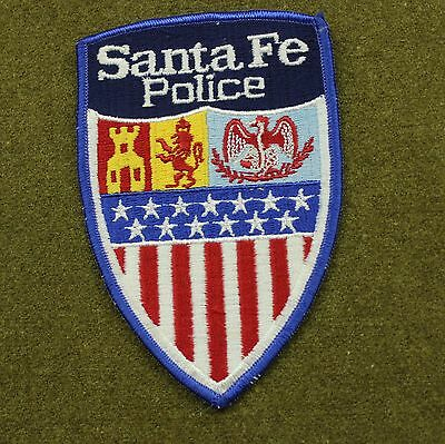 28554) Patch Santa Fe New Mexico Police Department Sheriff Law Uniform