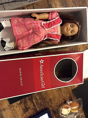 American Girl Marie-Grace historical doll retired doll boxed