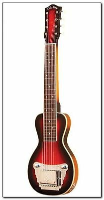 Gold Tone 8-String Lap Steel, Two-Tone Tobacco w/ Case, Free Shipping