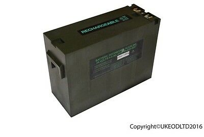 Clansman Radio Battery, British Army - 24 Volt 4ah - BRAND NEW - PRC 320 344 351