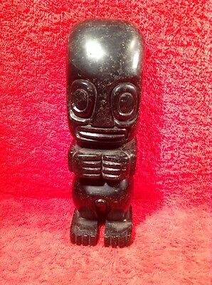 Antique Peruvian Incan Fertility Onyx Statue