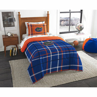 TWIN Florida Gators COMPLETE BEDDING SET Comforter Sheets 5Pc Football Bed Bag