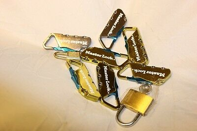 7 Mini Locks Master and 1 Key Lock
