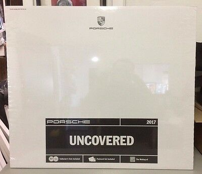 *NEW* Official Porsche 2017 Calendar! Collectors Coin Included! ~-UNCOVERED-~