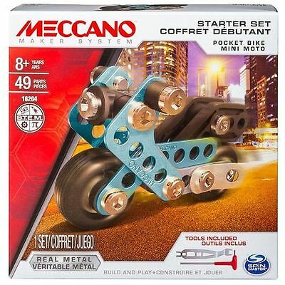 Meccano 1 Model Set Pocket Bike