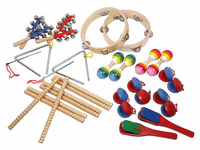 Percussion Musical Instrument Set - 26 Pieces
