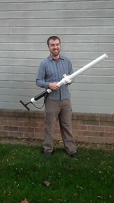 Deluxe T Shirt Launcher aka T Shirt Cannon built-in pump, see video in listing