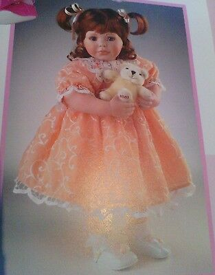 Marie Osmond Baby Miracles Porcelain Doll New In Box