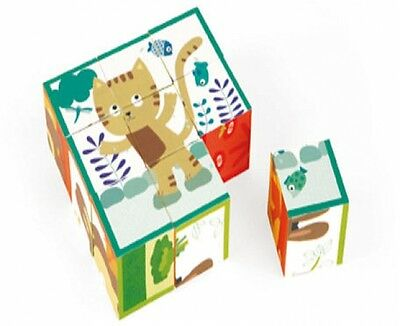 Color Puzzle Blocks Baby Toddler Infant Developmental Learning Educational Toy