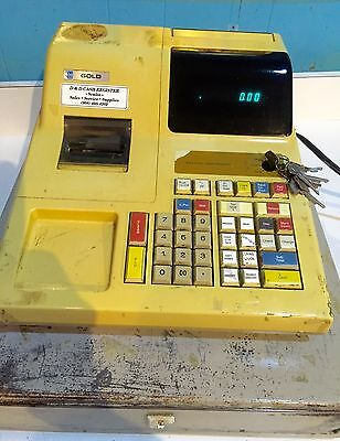 JCM GOLD  electronic Cash Register * USED* as is manual included