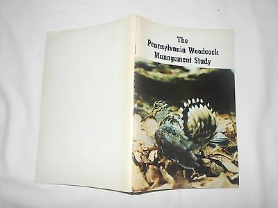 The Pennsylvania Woodcock Management Study-1972-95 Pages
