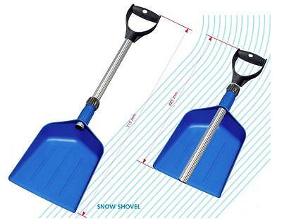 Telescopic Car Snow Shovel - compact with extending aluminium shaft