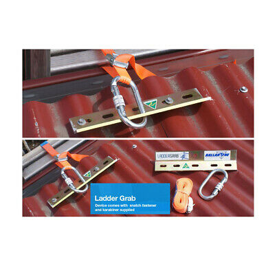 Ballantyne Safety Ladder Grab Roof Anchor Fall Protection Secure Ladder