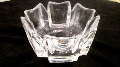 Osie Fais Numbered LH4384-121 Glass Bowl in Excellent  Condition!