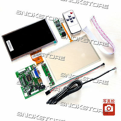 "2016 NEW INNOLUX 7"" RASPBERRY Pi LCD TOUCH SCREEN TFT AT070TN90 TOUCHSCREEN KIT"