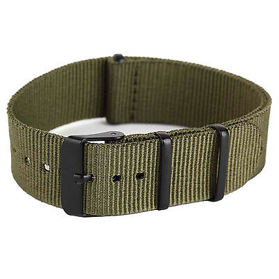 20mm Nylon Fabric Outdoor Sport Watch Band Strap Fits TIMEX WEEKENDER WB2034 T1
