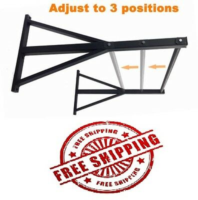 CROSSFIT PULL UP RACK CHIN UP BAR WALL MOUNT BRACKET 900kg CAPACITY CROSS FIT