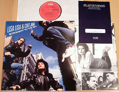 LISA LISA & CULT JAM - Straight To The Sky  (1989 + PROMO-PASS / LP m-)