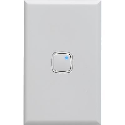 HPM 450W PUSH BUTTON DIMMER SWITCH Universal Type Flicker Noise Free White 240V