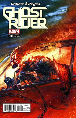 Ghost Rider #1 Dell Otto Variant Cover New Series First Print