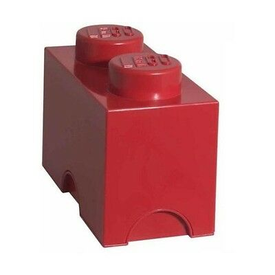 LEGO Storage Brick 2 Red