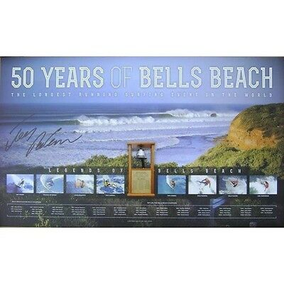 Joel Parkinson Hand Signed Bells Beach 50 Years Limited Edition Surfing Print