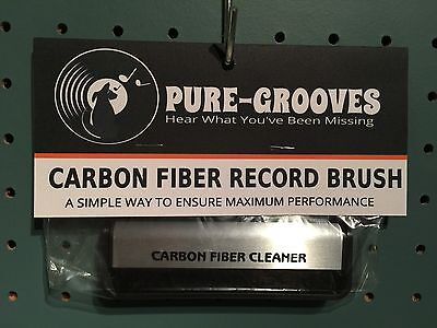 Carbon Fiber Record Brush By Pure-Grooves.com