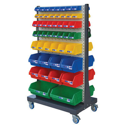 Stormax Lourve Panel Trolley 980x600x1540mm (WxDxH) - Shipping Aust Wide