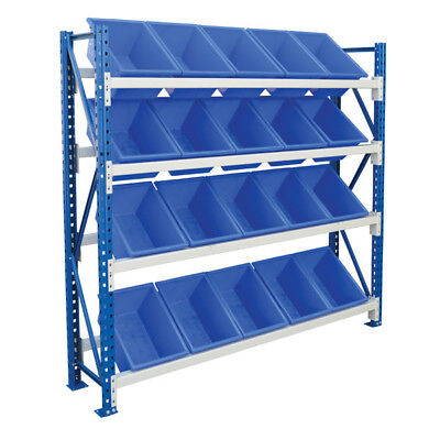 Stormax Access Plastic Bin Rack (with 20 bins)  1800x1800mm (WxH) - Shipping Aus